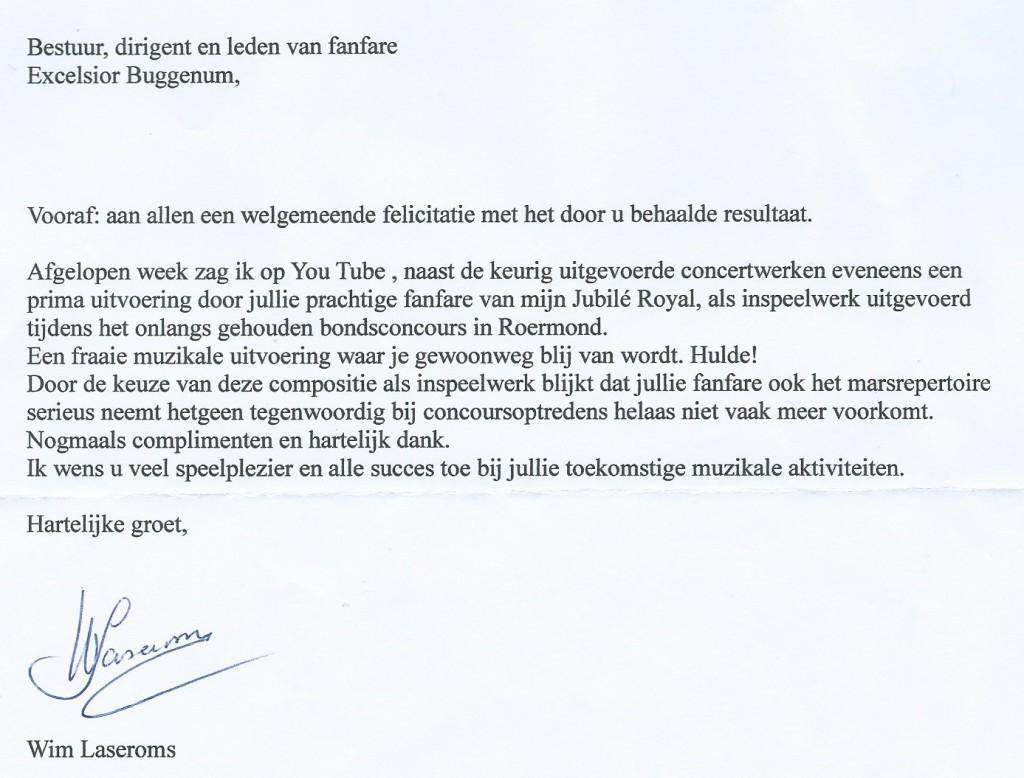 Brief Wim Laseroms klein_1